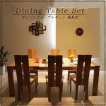 ダイニングテーブルセット(6人用)で人気は?おしゃれでおすすめのダイニングテーブルセットも紹介!